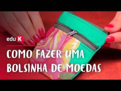 Porta óculos duplo DIY: bolsas e acessórios casuais   eduK.com.br cursos online - YouTube