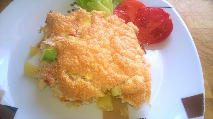 Gyors fogás: zöldséges omlett