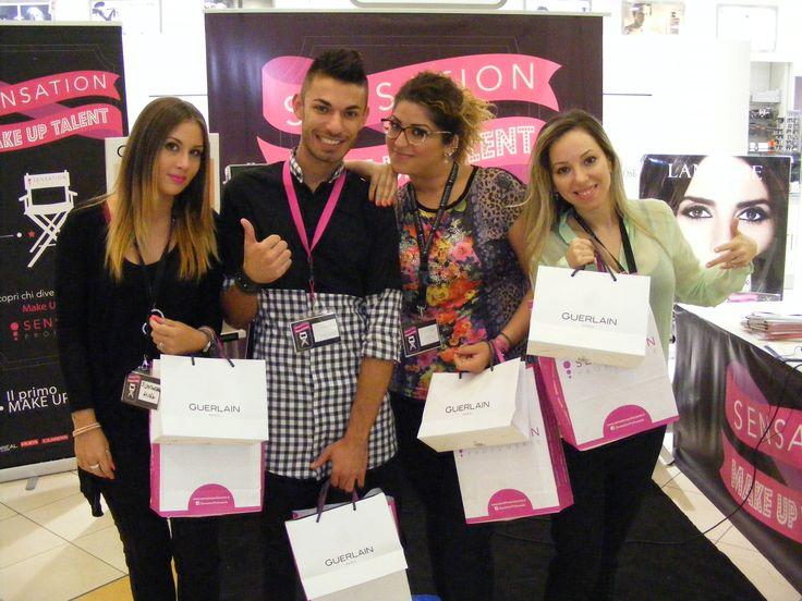 Da destra i finalisti Concettina Forastefano, Katerin Picciolo e Antonio Bevilacqua insieme alla semifinalista Giulia Costantinelli.
