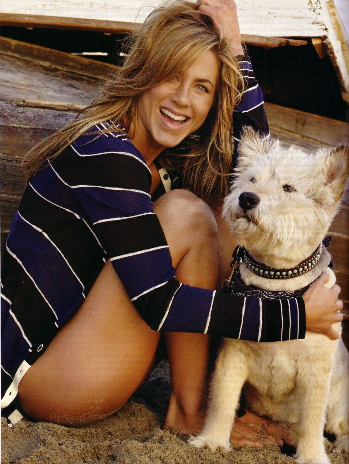 Jennifer Aniston so much loved her dog Norman that she got a tattoo in his honor after he passed away in March. That's devotion!