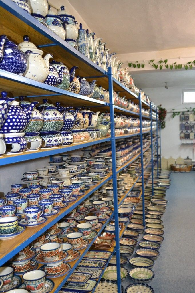 Boleslawiec, Poland (aka Polish Pottery Heaven) Took an entire week and traveled by train all over Poland; this stop was a must.