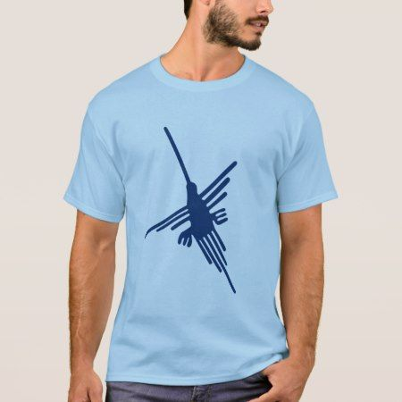 Nazca Hummingbird T-Shirt - tap to personalize and get yours