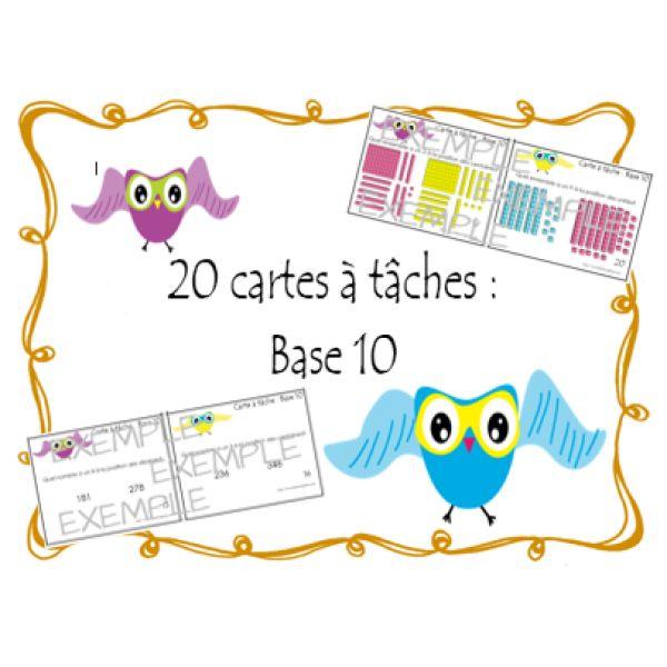 7. Cartes à tâches: Base 10