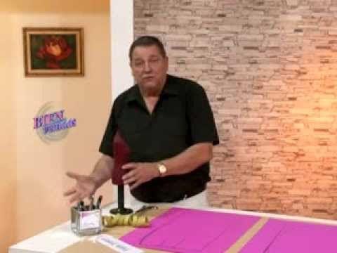 Hermenegildo Zampar- Bienvenidas TV - Explica correcciones de falda. - YouTube