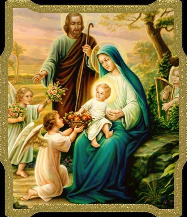 Holy Family Admires Jesus Nativity Religious Christmas: 131 Best Images About Immaculate Mary On Pinterest