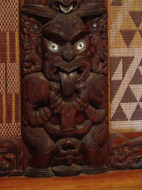 Maori in the Marae
