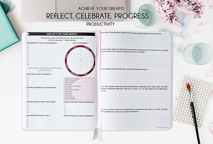 Amazon.com : Deluxe Law of Attraction Life Planner - 2018 Planner to Increase Productivity & Happiness - Weekly Planner, Organizer & Gratitude Journal (Dated 2018, Rose Gold) + GIFT BOX + BONUS Planner Stickers : Office Products