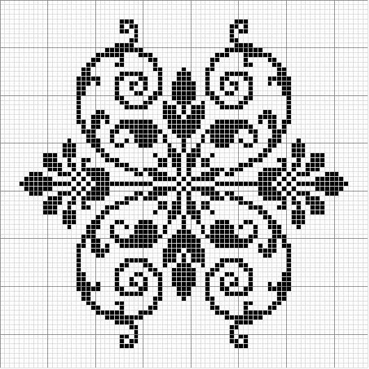 Other 08 | Free chart for cross-stitch, filet crochet | gancedo.eu