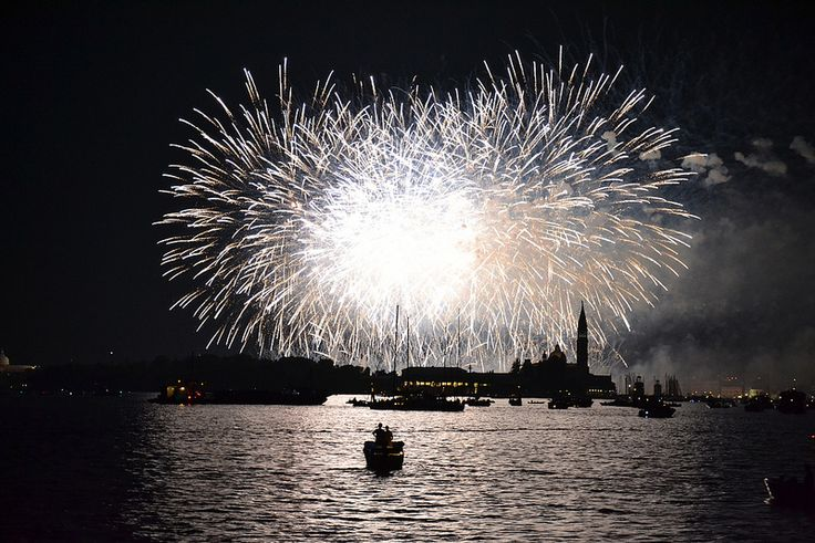 Redentore 2014 - Fireworks above San Giorgio Island