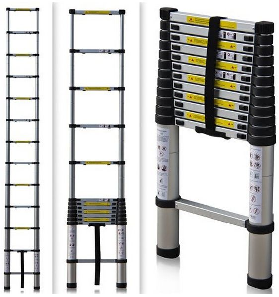 An extendable ladder is a wonderful gift for those of us RVers who don't have rear ladders on our rigs.