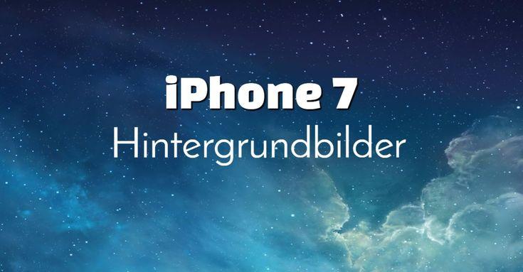 Hier könnt ihr euch für das neue iPhone 7, 29 atemberaubende Hintergrundbilder herunterladen. Dazu müsst ihr nur mit der rechten Maustaste auf das gewünschte Hintergrundbild klicken dann: -> Bild speichern unter... Danach das iPhone 7 Hintergrundbild auf euer Gerät übertragen und unter Einstellung -> Hintergrundbild das übertragene Wallpaper auswählen. Fertig!
