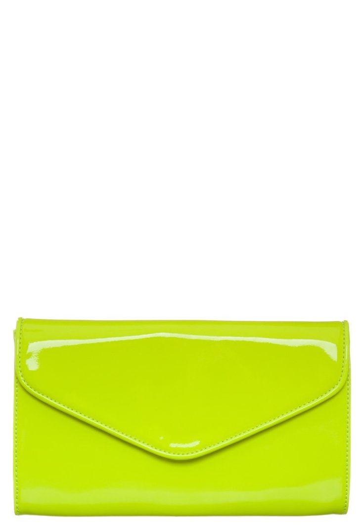 Esprit - SADIE - Clutch - neon yellow