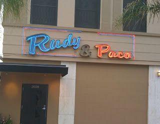 Rudy & Paco - Galveston Restaurant  2028 Post Office St. 409-762-3696  Top 100 Restaurants in the US 2014.