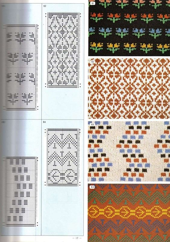 Pattern Library - Library patterns (Jacquard - spokes). Discussion on LiveInternet - Russian Service Online Diaries