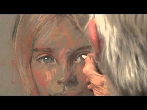 """(Just a 5 minutes clip of a dvd, but I learned a lot just from this!)-This is the trailer for the art instruction DVD """"A Portrait in Pastel"""" by Rob Wareing.The DVD is just over an hour long and contains concise instruction on drawing and proportions as well as values, lighting, colour temperature and hard & soft edges. . For further details see our website at www.robwareing.com . Email rob.wareing@btopenworld.com ..."""