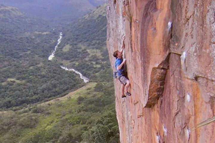Umgeni Valley Rock clmbing RSA