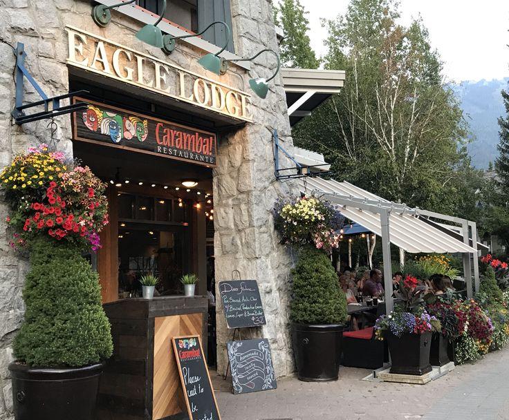 Great #patio at @CarambaRestaurant #Whistler