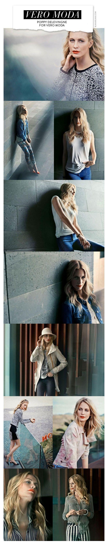 Poppy Delevingne for Vero Moda Spring Summer 2013