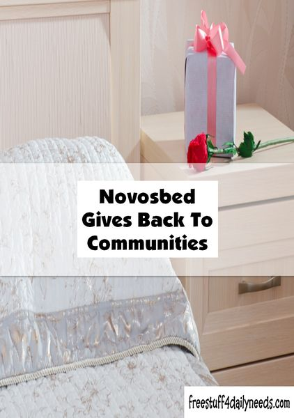 Novosbed gives back to communities by repurposing warranty returned beds to the less fortunate in your community. Read more about this initiative.