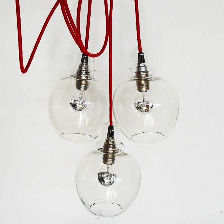 LIGHT DROPS Deckenleuchte, Dreierversion von Stockhausendesign auf DaWanda.com