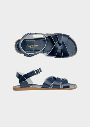 I have been wearing these Salt Water Sandals since I was a kid. Navy Blue has always been my favorite. I LOVE THEM!