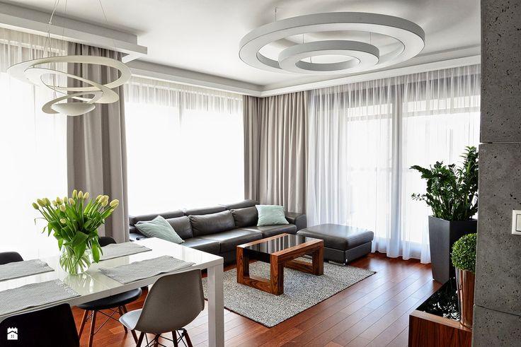 Apartament w Warszawie - zdjęcie od HOLTZ - Salon - Styl Nowoczesny - HOLTZ