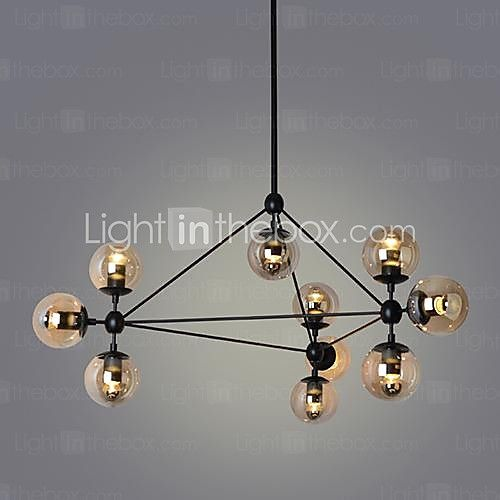 Pendant Lights , 10 Light , Simple Modern Artistic MS-86526 - USD $389.99