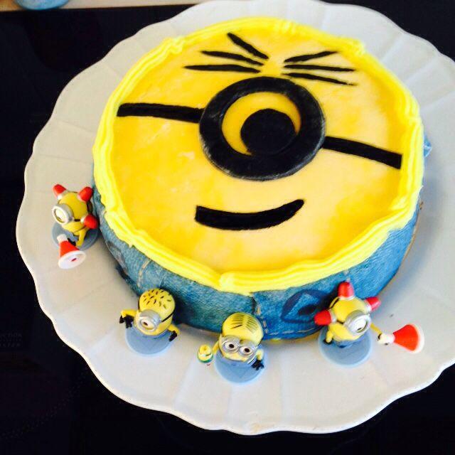 Gâteau minions pour Edouard