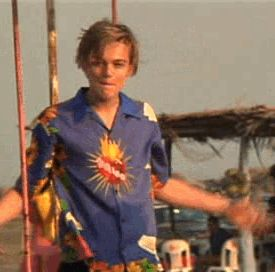 """""""Romeo + Juliet"""" (1996) >> Leonardo DiCaprio & Harold Perrineau 
