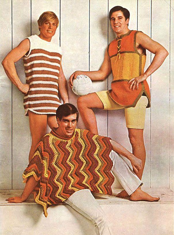 Anuncios de moda masculina de los años 70 con los que vas a flipar