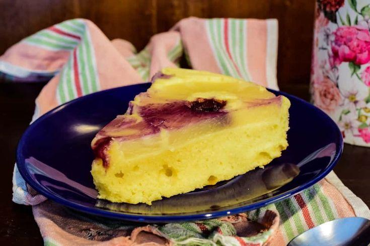 Odwrócone ciasto z ananasem - prościej się nie da Thermomania Theromomix