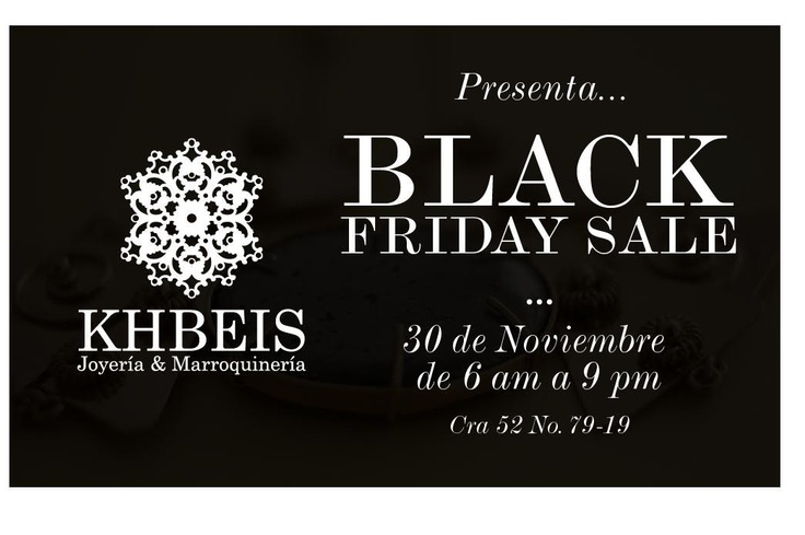 Black friday Noviembre 30 en KHBEIS, Barranquilla