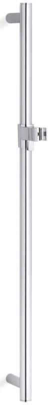 Kohler k-8524 Traditional 30 Inch Slide Bar for Performance Showering Systems Polished Chrome Shower Accessories Slide Bars