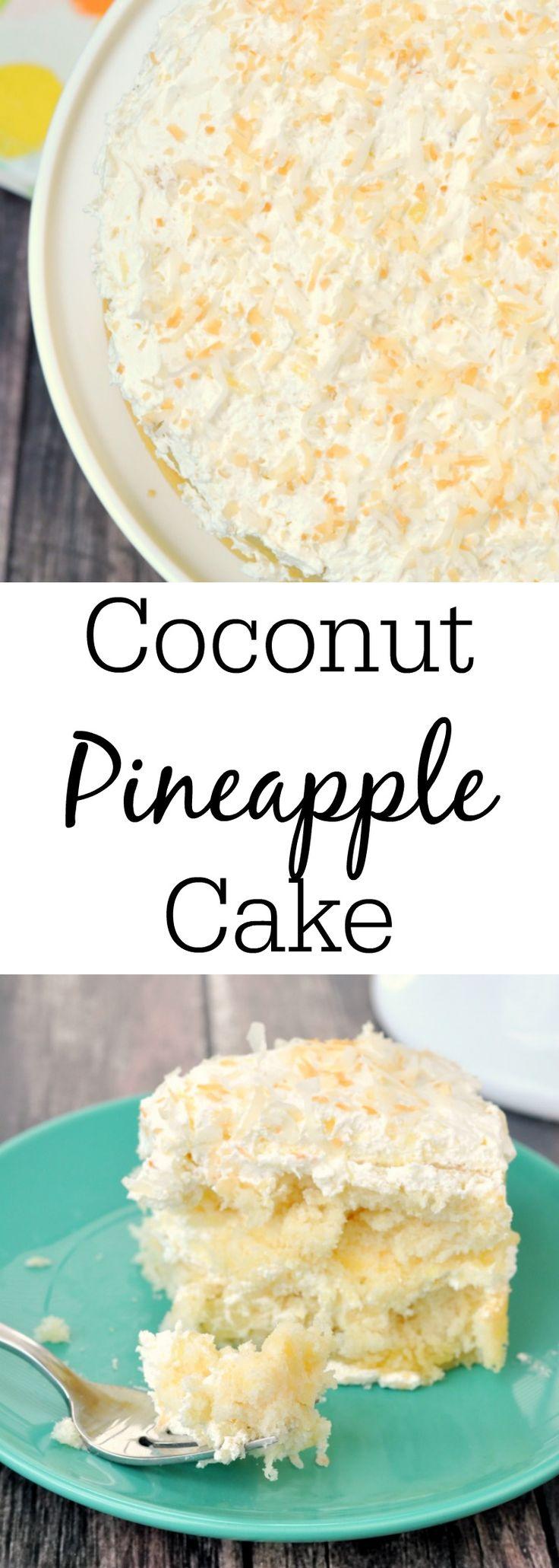 Grandma's Famous Coconut Pineapple Cake | #InspirationSpotlight