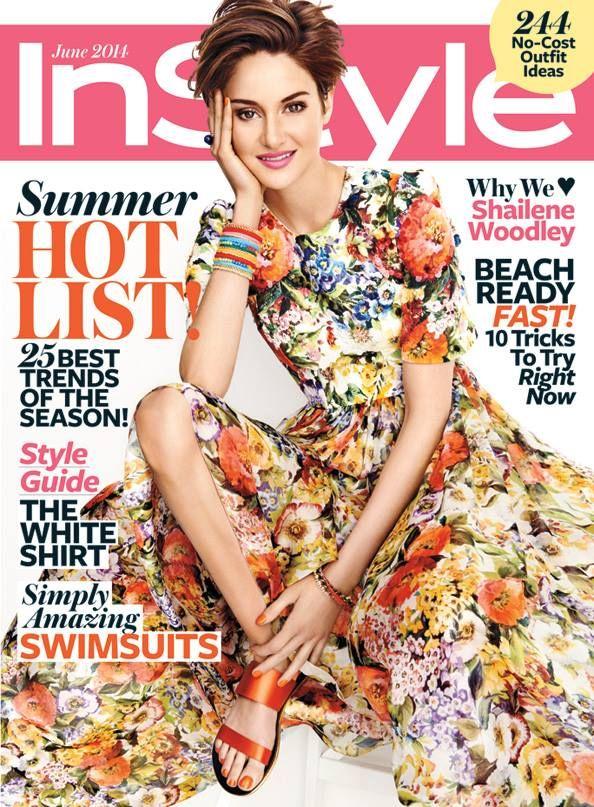 Shailene Woodley for InStyle US June 2014