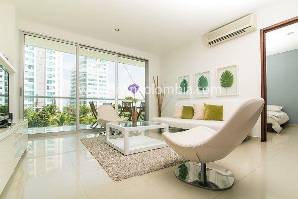 Nuestro apartamento vacacional Morros Tropical - Ubicado en la zona de la boquilla Cartagena, con salida directa a una de las mejores playas de Cartagena.