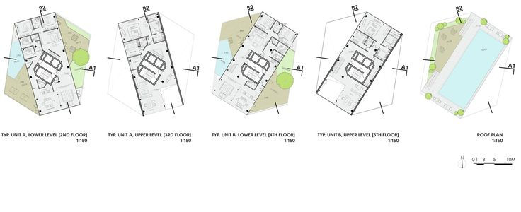 Image 7 of 11 from gallery of Writhing Tower / LYCS Architecture. plans