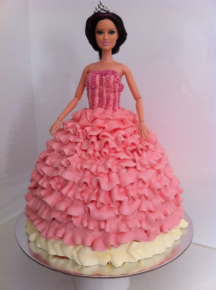 Homemade Princess Cake Recipe Barbie Cake Cake Cool