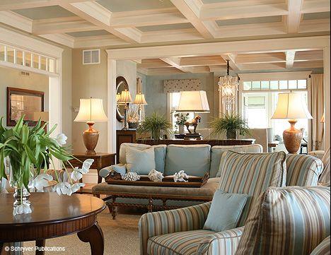 Ideas U0026 Design:Cape Cod Interior Design With Stripped Seat Cape Cod Interior  Design