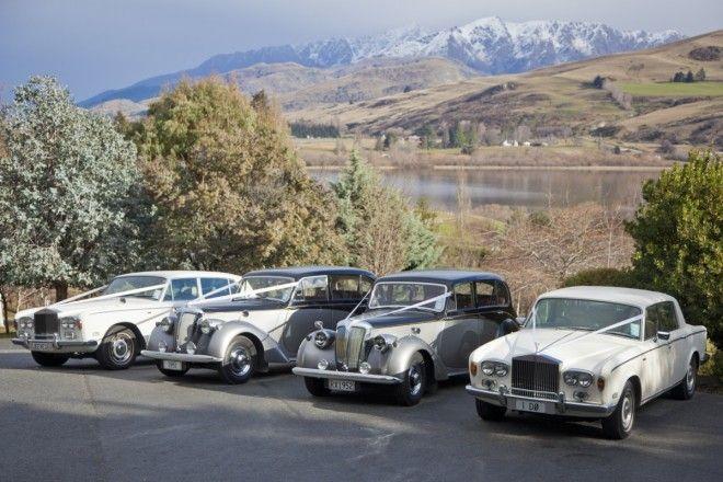 Classic Car Journeys Fleet in Queenstown, New Zealand
