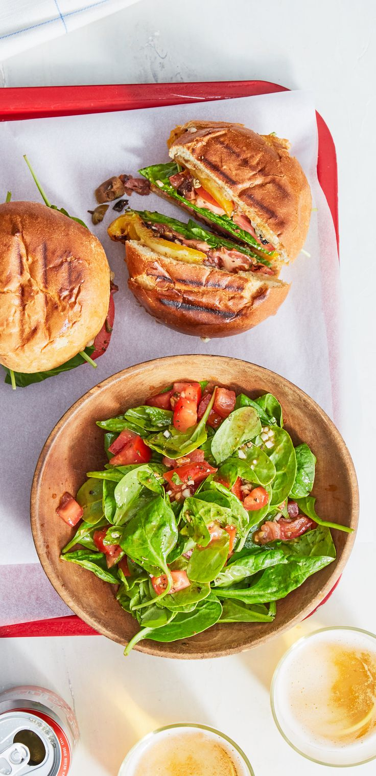 This vegetarian riff on a classic New Orleans sandwich has an olive-caper spread, grilled bell peppers, marinated tomatoes, and fontina cheese. It's sure to transport you to Louisiana from the comfort of your own kitchen. Sign up for @marleyspoon meal kit deliveries today!