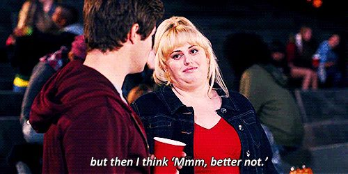 16 Thoughts During a Night Out, as Told by Fat Amy | Her Campus