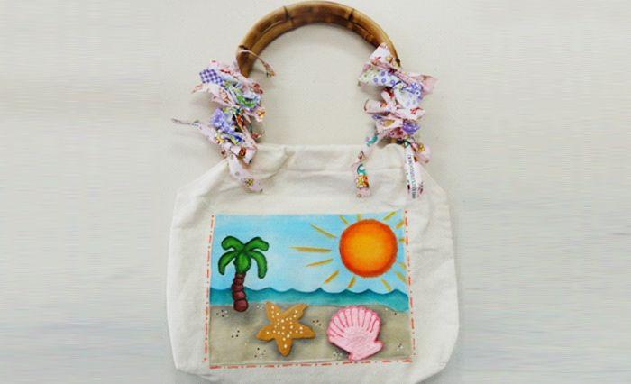 Bolsa Verão – Tinta Acrilex