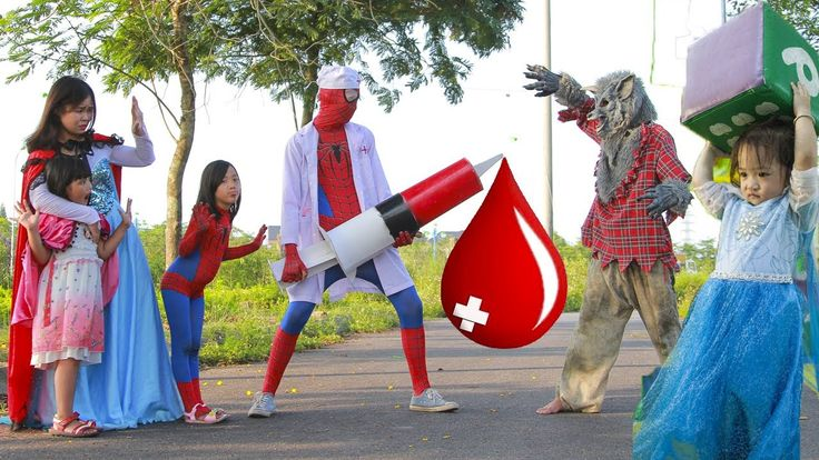 Spiderman is Doctor Joker kidnapped Elsa 2 years old Superman  Injection...