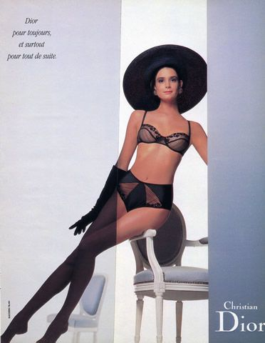 Sexy lingerie ads