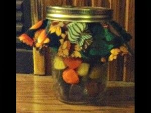 Gifts in Jars: Thanksgiving Hostess Gift #thanksgiving #giftsinjars