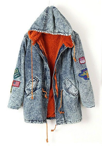 1000  ideas about Denim Parka on Pinterest | Denim coat Denim