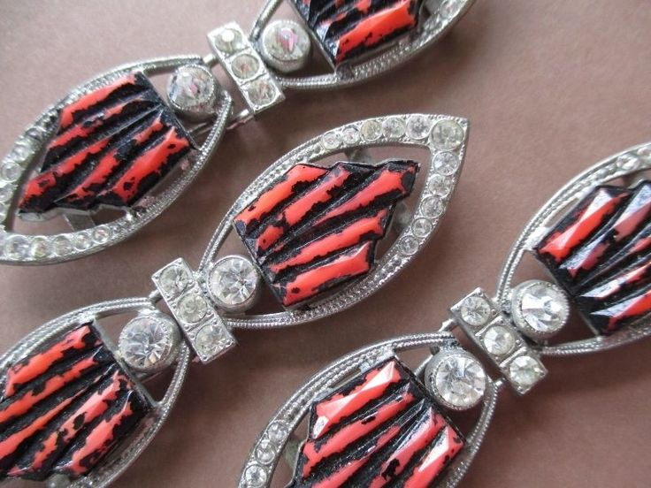 3 BEAUTIFUL SPARKLING VINTAGE DRESS BELT BUCKLES RHINESTONES & METAL noelhumphrey on eBay.co.uk