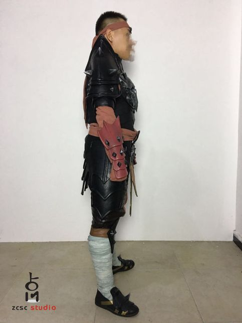 Anime/Video+Game:+Mortal+Kombat  Character:+Liu+Kang  Please+send+email+to+us+before+check+out.+we+will+give+you+a+list+and+picture+about+body+measurement.  email:zcscstudio@163.com
