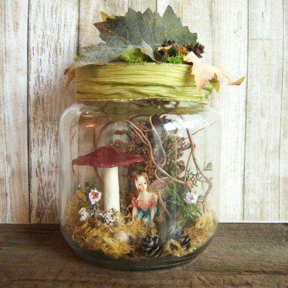 Fairy Jars » Fairy Garden » Fairies in a Jar » Fairy Gift » Faerie » Garden Fairies » Captured Fairy » Captive Fairy » Gifts for Girls